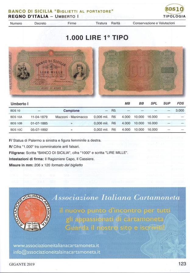 ASSOCIAZIONE ITALIANA CARTAMONETA – no profit