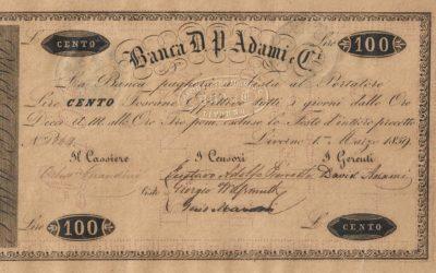 CHARTA NUMMARIA – La cartamoneta in Toscana prima dell'Unità d'Italia