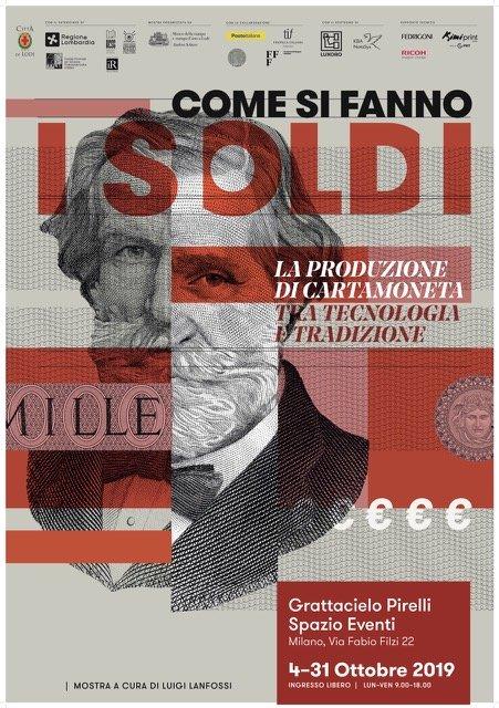"""""""COME SI FANNO I SOLDI"""" – Mostra dal 4 al 31 ottobre 2019 Milano"""
